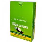 Dr Mercola Organic Cocoa Cassava 12 Energy Bars Chocolate & Coconut