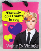 """Barbie and Ken Gift Bag """"The Only Doll I Want Is You"""""""