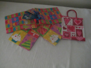 4 Gift Bags & 1 Free Heart Gift bag, Size