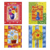"""""""Bright Flowers"""" Large Gift Bags"""