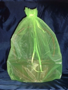 Organza Sheer Basket Bag Gift Pouch-60cm x60cm - Lime Green - Gift Baskets