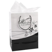 Medium Welcome To Our Wedding Gift Bags - Gift Bags, Wrap & Ribbon & Gift Bags and Gift Boxes