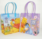Disney Winnie the Pooh Party Favour Goodie Small Gift Bags 12