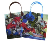 Transformers Gift Bags Party Tote Bags - 6pc Set - Transformers Party Gift Tote Bags