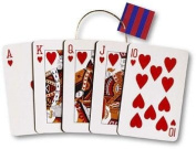 Pack of 6 Big Royal Flush Extra Large Die Cut Gift Bags