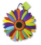 Pack of 6 Flower Power Medium Die Cut Gift Bags