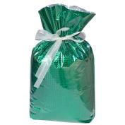 Gift Mate 21076-9 9-Piece Drawstring Gift Bags, Small, Diamond Green