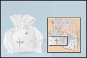 Cross Organza Gft Bag-Sml 50pk