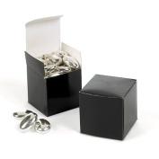 Black Gift Boxes - 5.1cm X 5.1cm - 12 count