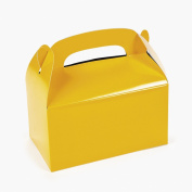 Yellow Treat Boxes (1 dz)
