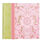 CR Gibson Bound Photo Journal Album with Space for Journaling and CD Storage Pocket, Maime,