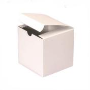 White Wedding Favour Candy Gift Boxes 4x10cm x 10cm 25 Boxes
