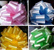 10 x 50mm Florist Craft Pull Bows (Assorted Colours). Floral Tributes / bouqu...