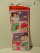 Dora the Explorer Peel 'N Stick Gift Tags