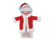 Santa Claus Suit Gift Card Holder