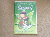 Happy Birthday Aaron - Singing Birthday Card