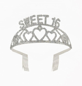 Forum Novelties Sweet 16 Birthday Glitter Tiara