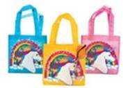 12 Unicorn Tote Bags- Small Size