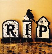 Halloween Slotted Tombstones Decorations