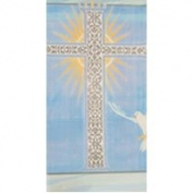 Religious Special Bessings Blue Tablecover