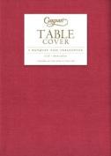 Table Cloth Paper, Nicer than Vinyl Tablecloths & Plastic Tablecloths Berry Colour 5' x 8'