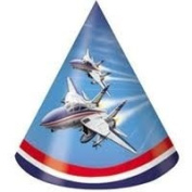 Fighter Pilot Party Hats