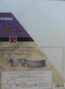 Brilliant Prints Collection - Announcements/Invitations Vellum Stock Ensemble - 50 Sheets - %0 Envelopes