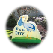 It'S A Boy! Inflatable Birth Announcement