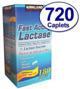 Kirkland Signature Fast Acting Lactase, . Lactaid Fast Act (4 Pack) 720 Caplets