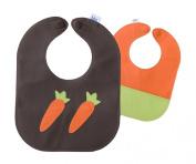Carrot Leather Bib