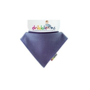 Dribble-Ons Bandana Bib - Bright Blueberry - ** 3 PACK *.