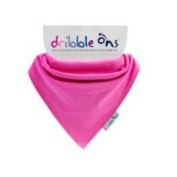 :Dribble-Ons, Fuschia Bib * BOX OF 4 *