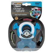 [HSB Value+ Bundle] Tommee Tippee Closer to Nature Easy Reach Teethers Stage 2 with MF® Chenille® Cleaning Glove
