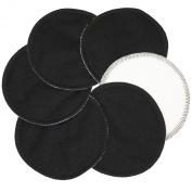 Nursing pads black/ resuable