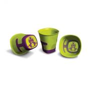 Plastorex 80 8482 A3 Child's Beaker Dual-Material Green / Purple