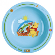 Trudeau 30514001199 Learning to Eat Plate Shallow 'Winnie the Pooh Spring' Bright