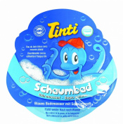 Single Sachet Blue Bubble Bath Foaming Coloured Fun 20ml - TINTI Schaumbad