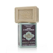 Marius Fabre Green Clay Argan Oil and Shea Butter Soap 150g