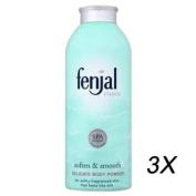 3 x Fenjal Classic Luxury Body Powder 100g