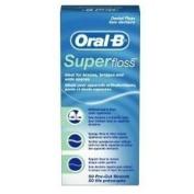 Oral-B Super Floss 50 Pieces Pre-Cut