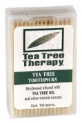 Tea Tree Therapy Toothpicks 100 Count