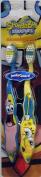 Nickelodeon Songebob Squarepants & Patric Toothbrush set
