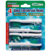 TeethStore TM Pack 8 Philips Sonicare HX7001/04 HX7006/80 Elite e-Series Compatable Standard Size Toothbrush Heads