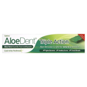 Optima Aloe Dent Triple Action Toothpaste 100ml - Pack of 6