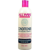 ALL WAYS Natural Conditioner Moisturising Formula Provides Maximum Conditoning for Dull & Dry Hair 12oz/355ml