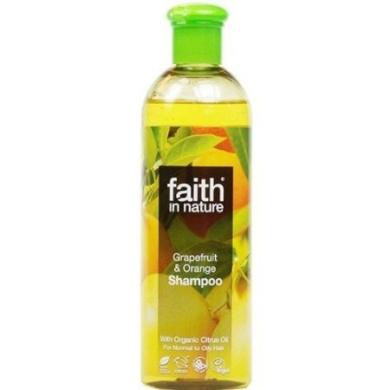 Faith In Nature. Grapefruit & Orange Shampoo 400Ml