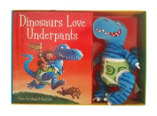 Dinosaurs Love Underpants Book and Toy