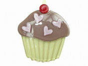 Glitz4Girlz Chocolate Cupcake Hair Clip