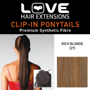 Love Hair Extensions Silky Sue Drawstring Synthetic Hair Ponytail