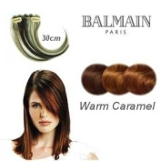 Balmain Hair Make-Up Colour Fringe - 30cm Warm Caramel